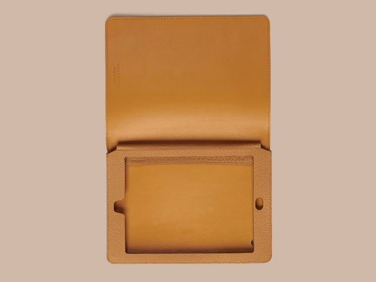 Ochre yellow Grainy Leather iPad Mini Case Ochre Yellow - cell image 1