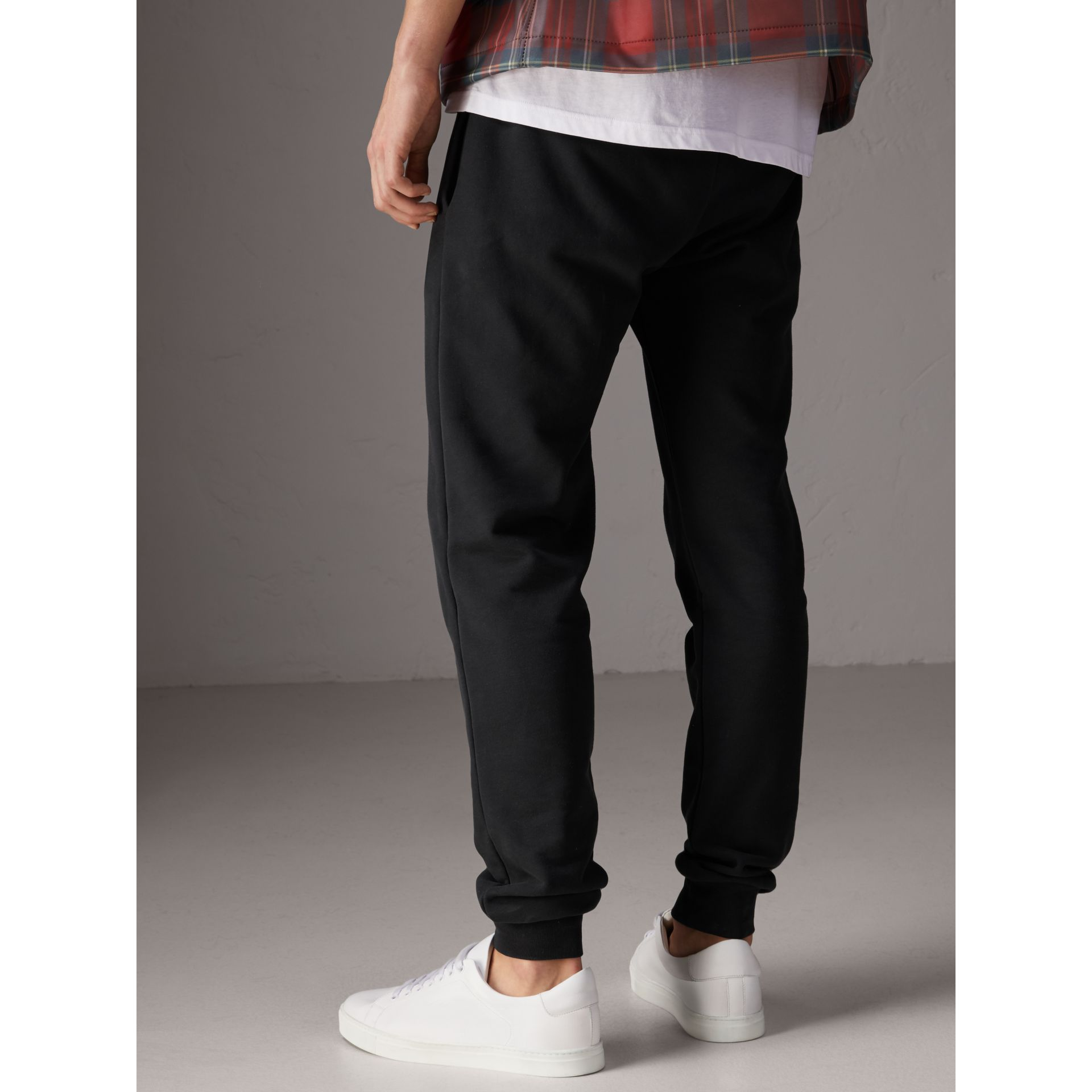 Burberry x Kris Wu Sweatpants in Black - Men | Burberry United Kingdom - gallery image 2