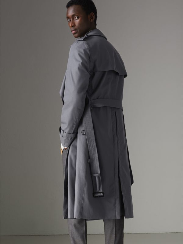 Trench coat Heritage The Chelsea lungo (Grigio Medio) - Uomo | Burberry - cell image 2