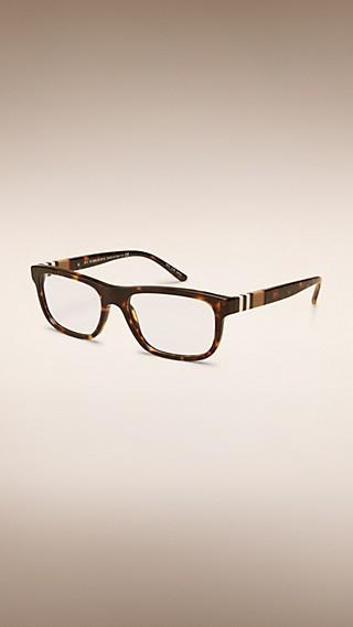 Check Detail Square Optical Frames