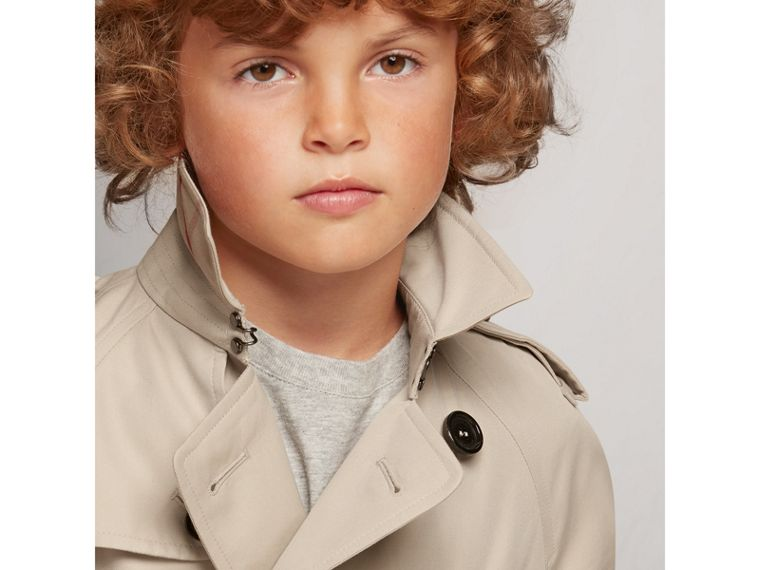 The Wiltshire – Heritage Trench Coat in Stone - Boy | Burberry Canada - cell image 1