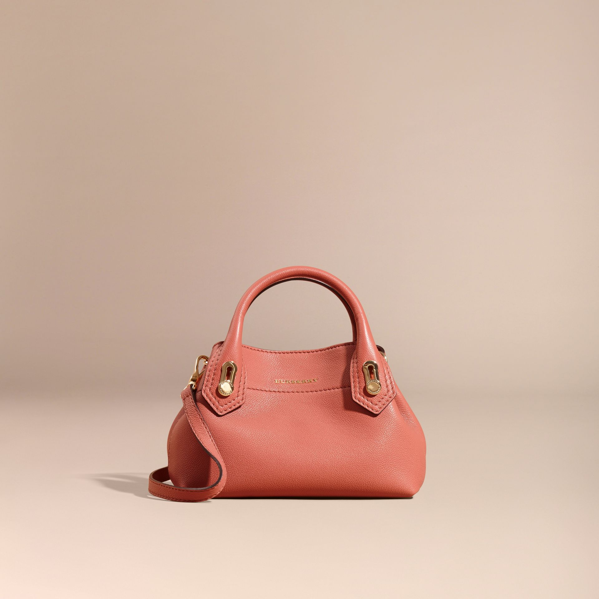 Copper pink The Baby Milton in Grainy Leather Copper Pink - gallery image 9