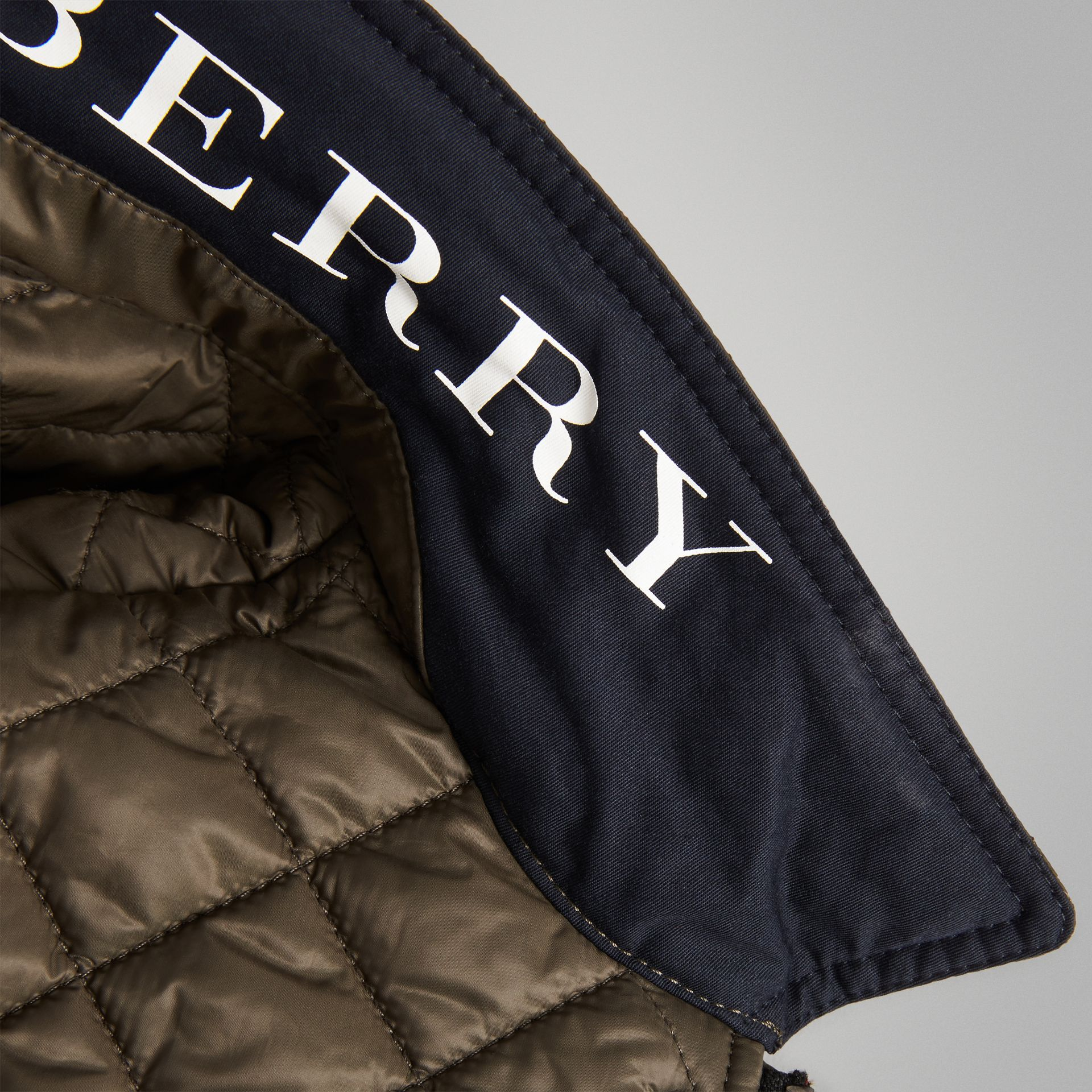 Lightweight Diamond Quilted Jacket in Oregano - Boy | Burberry - gallery image 1