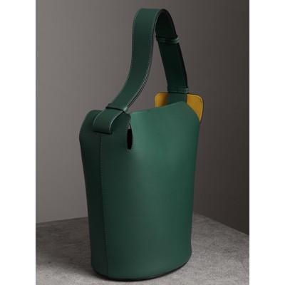 Burberry - Grand sac The Bucket en cuir - 4