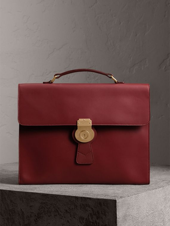 The Large DK88 Document Case in Antique Red