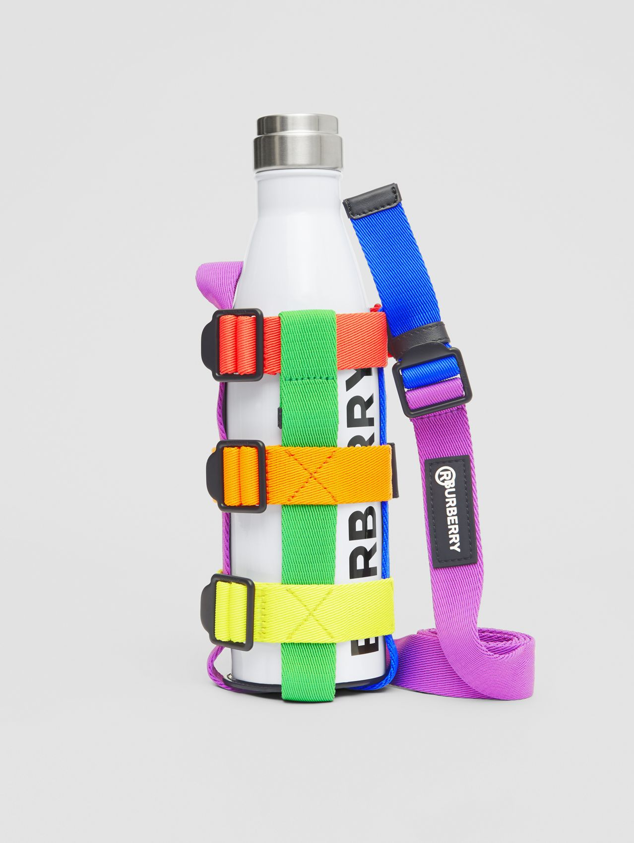 Rainbow Water Bottle Holder (Black/multicolour)