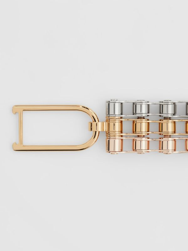 Bicycle Chain Gold and Rose Gold-plated Bracelet in Gold/pallad - Women | Burberry Hong Kong - cell image 2