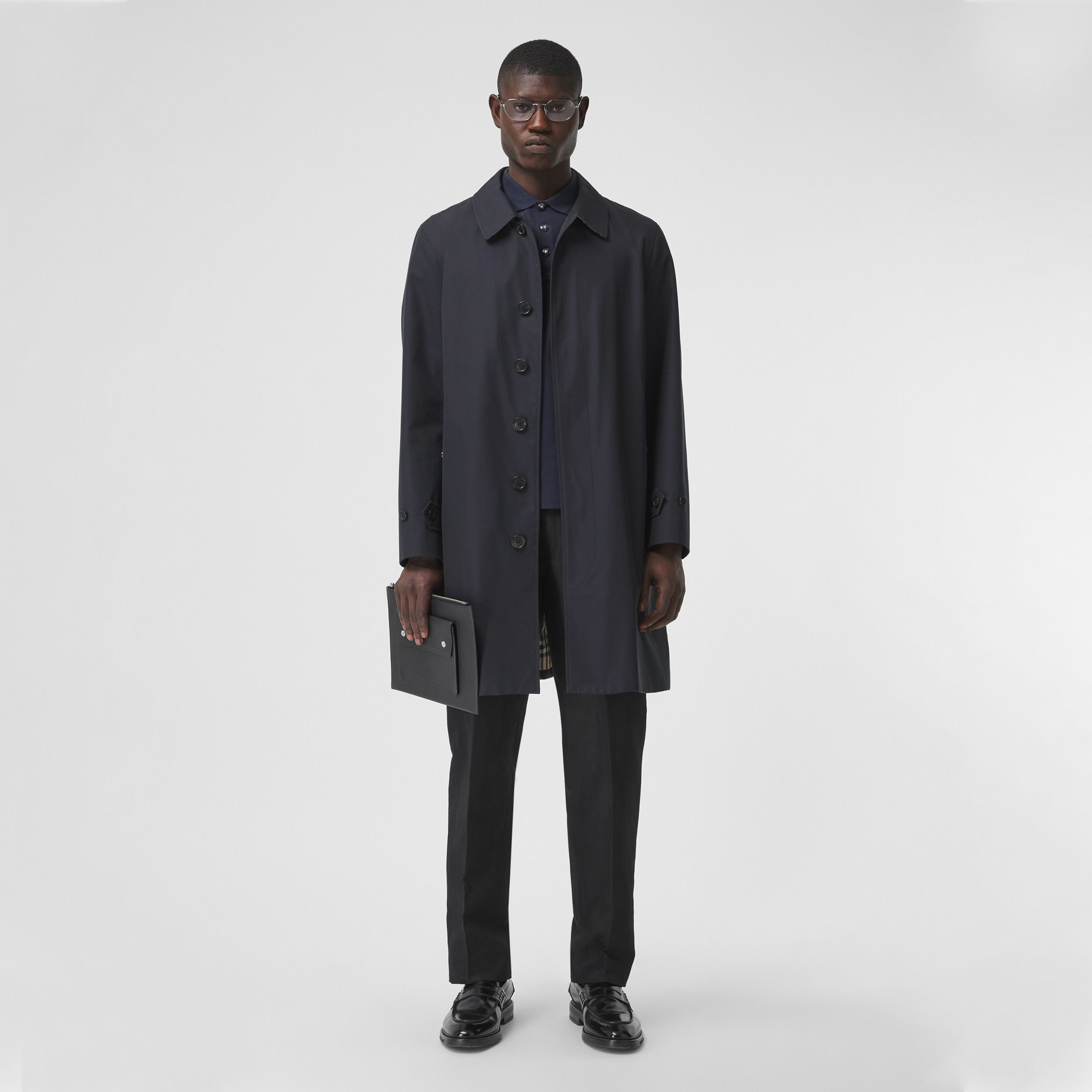 The Pimlico Car Coat in Midnight - Men | Burberry - 1