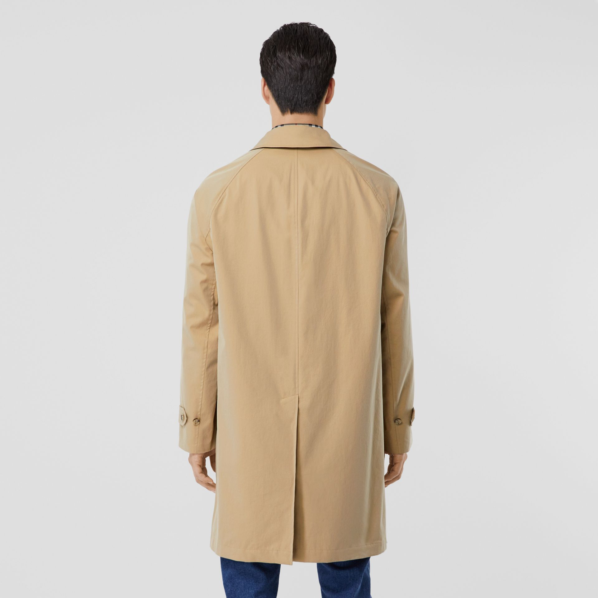 The Camden Car Coat in Honey - Men | Burberry Hong Kong S.A.R - gallery image 1