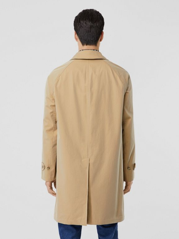 The Camden Car Coat in Honey - Men | Burberry Hong Kong S.A.R - cell image 1