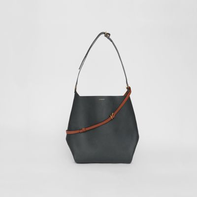 The Leather Grommet Detail Bag