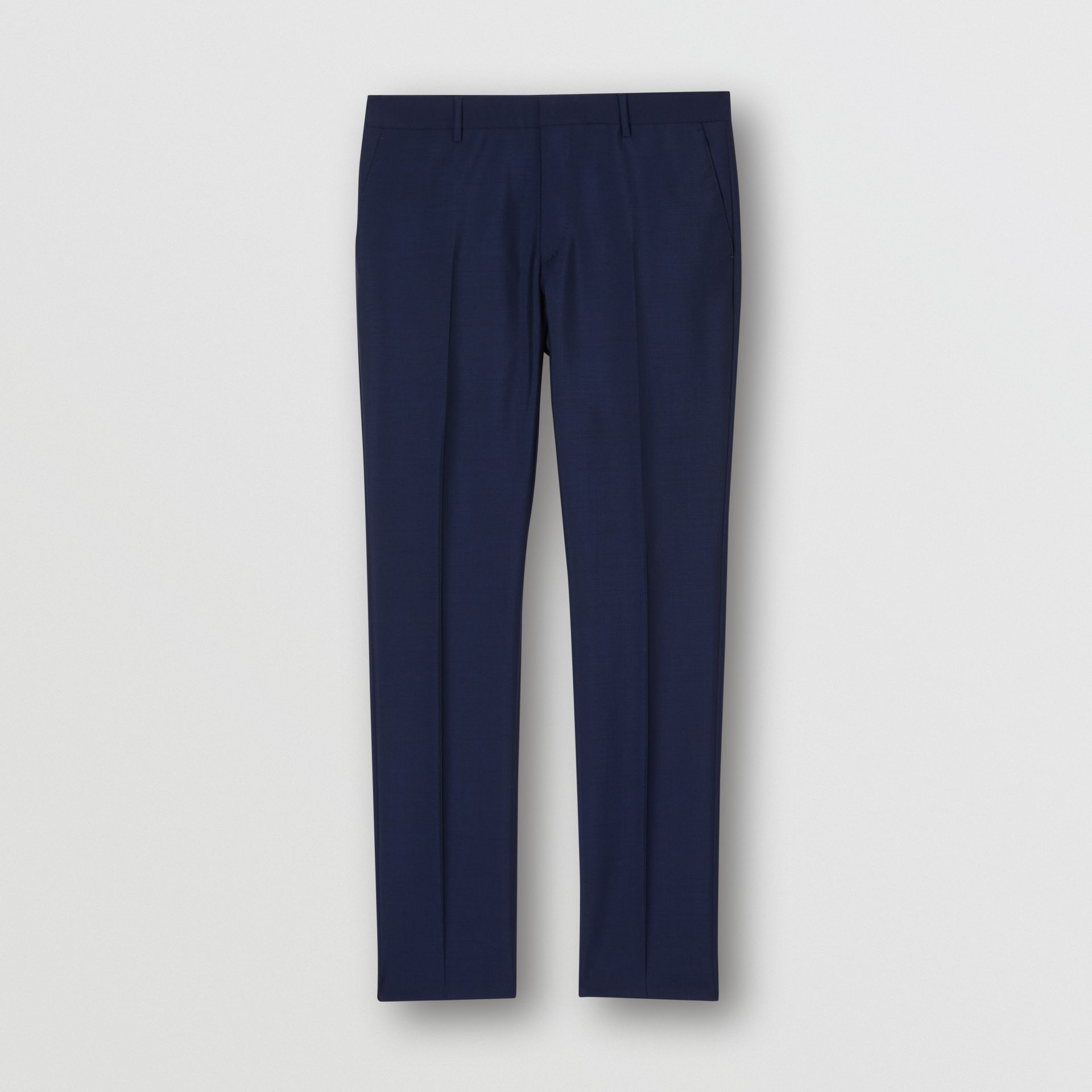 Slim Fit Wool Mohair Suit in Bright Navy - Men | Burberry United Kingdom - gallery image 7