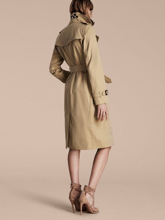 Honey The Kensington – Extra-long Heritage Trench Coat Honey - cell image 2
