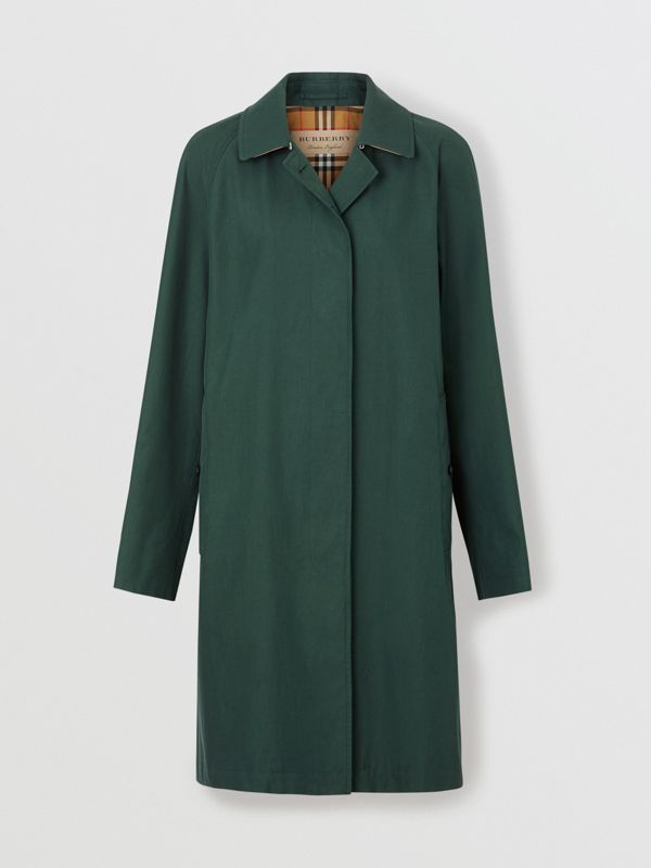 The Camden Car Coat in Dark Emerald - Women | Burberry United Kingdom - cell image 3