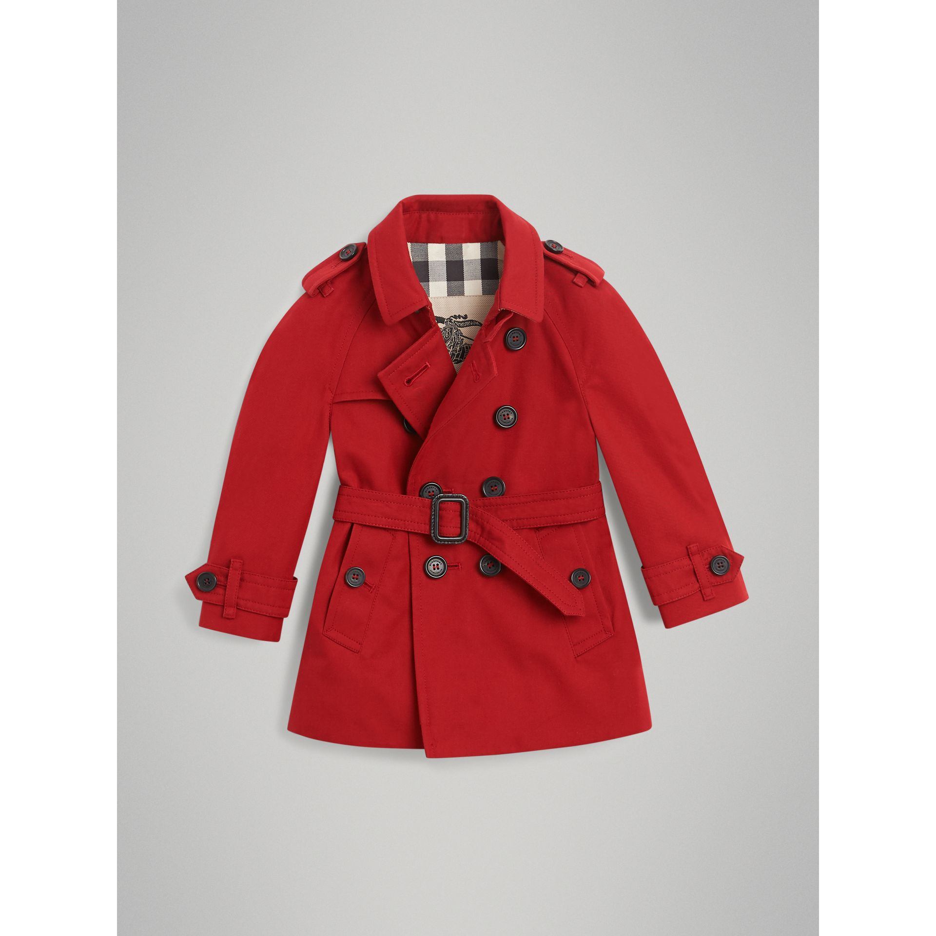 The Wiltshire Trench Coat in Parade Red | Burberry United Kingdom - gallery image 3