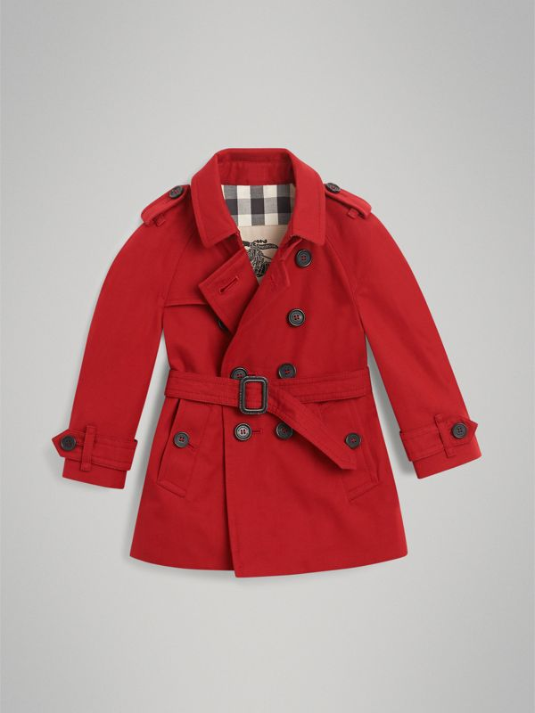 The Wiltshire Trench Coat in Parade Red | Burberry Hong Kong - cell image 3