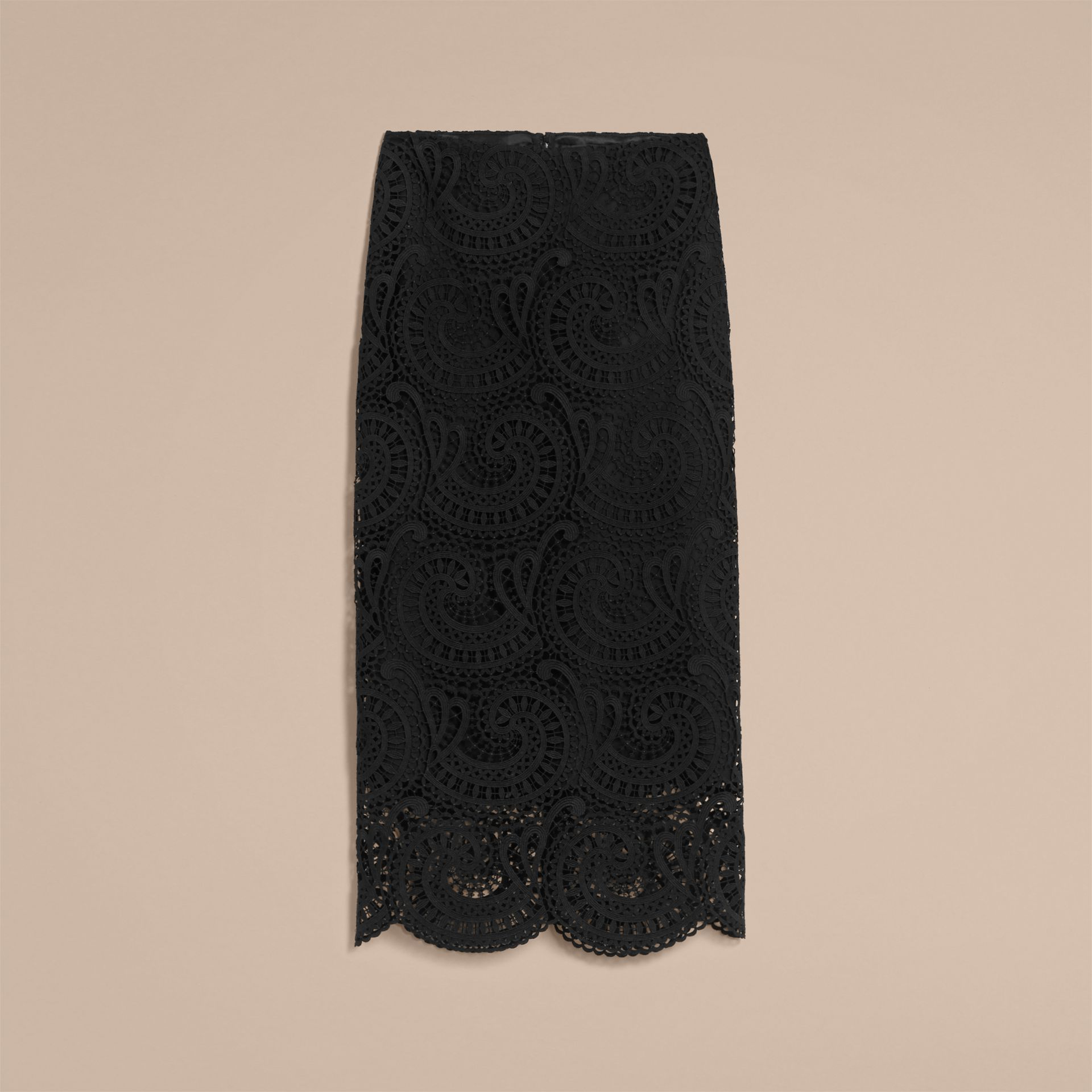 Macramé Lace Skirt - gallery image 4