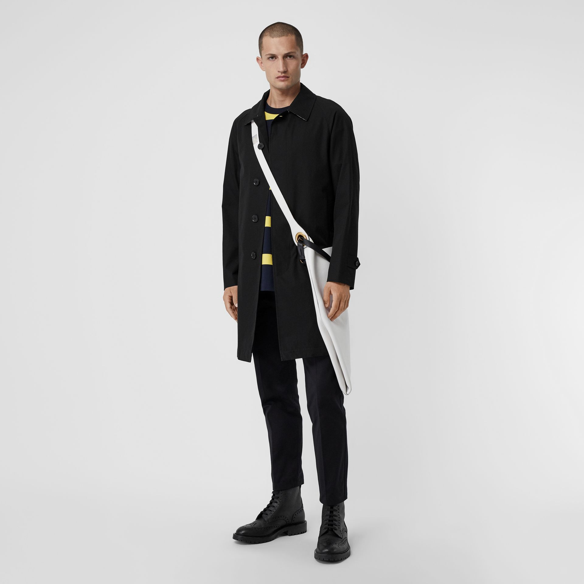 Car Coat The Camden (Noir) - Homme | Burberry Canada - photo de la galerie 0