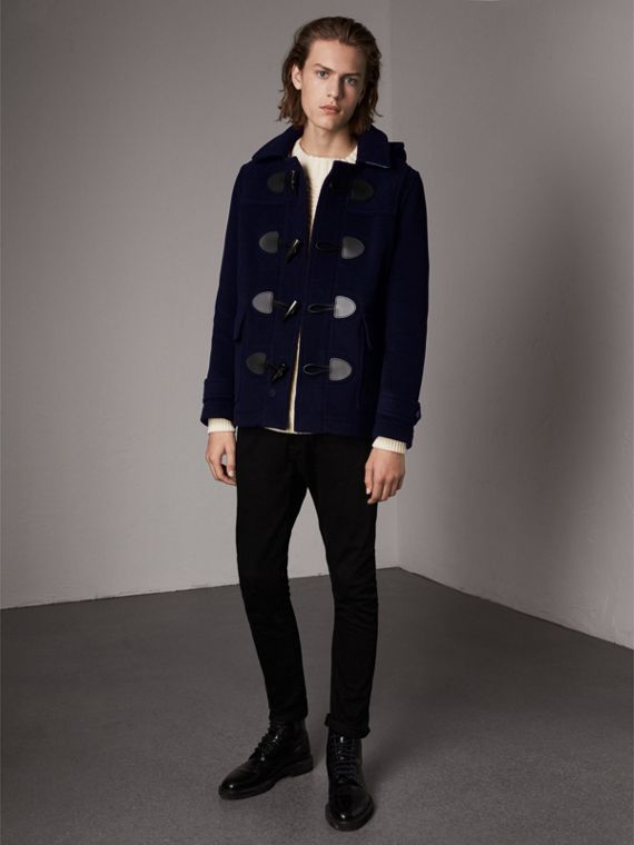 The Plymouth Duffle Coat in Navy