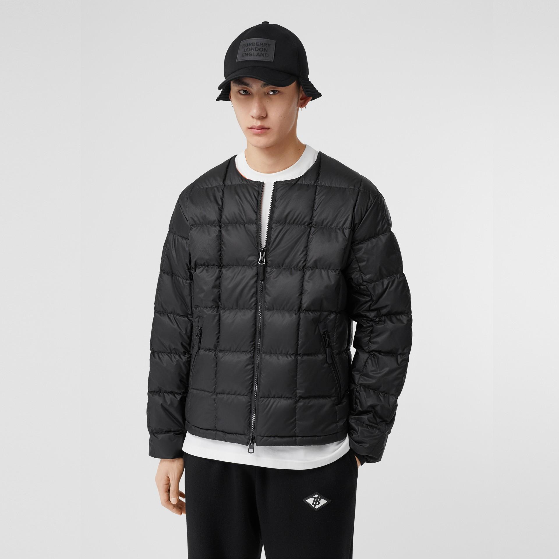 Куртка из плотного хлопка со съемной подстежкой (Черный) - Для мужчин   Burberry - изображение 6