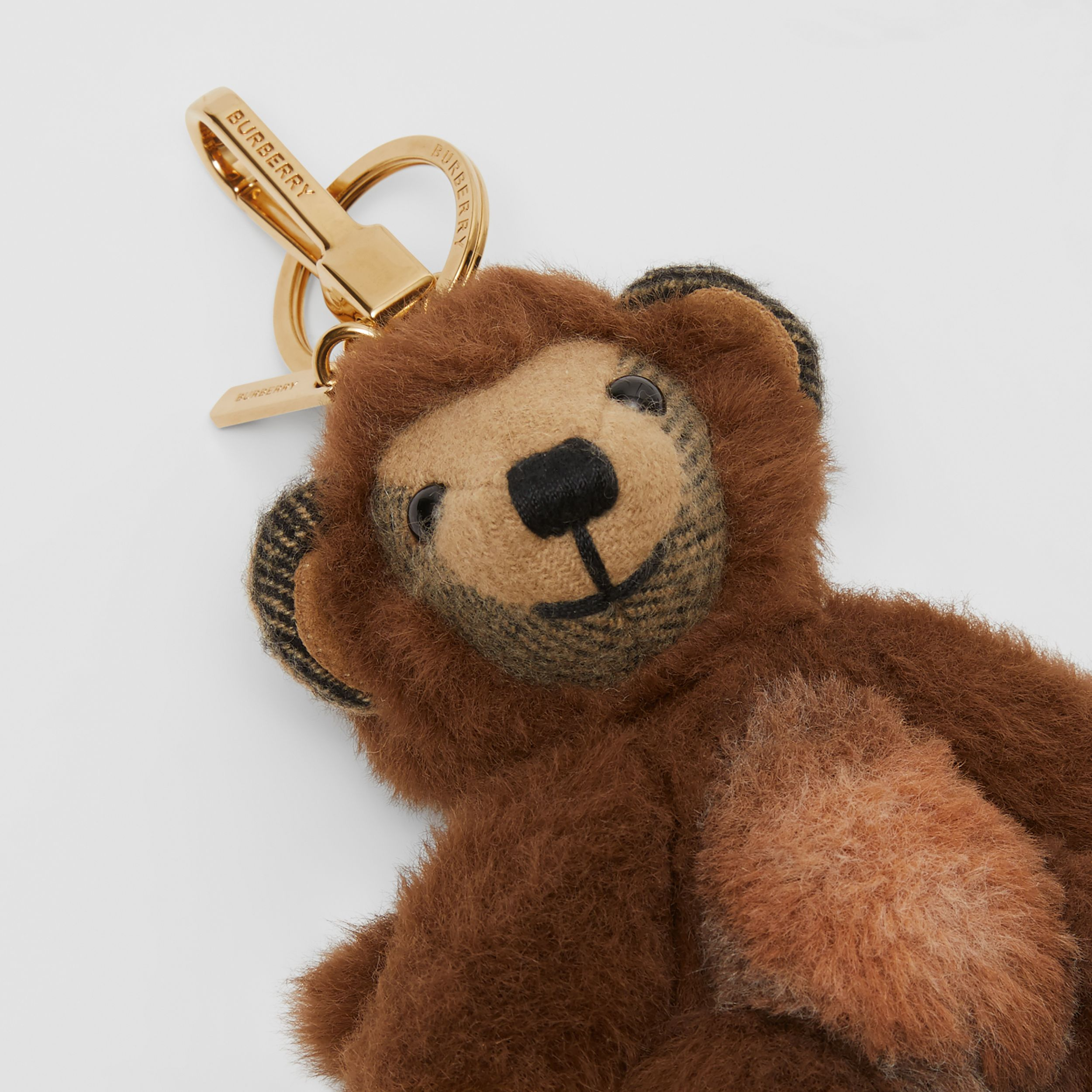 Thomas Bear Charm in Monkey Costume in Archive Beige | Burberry - 2