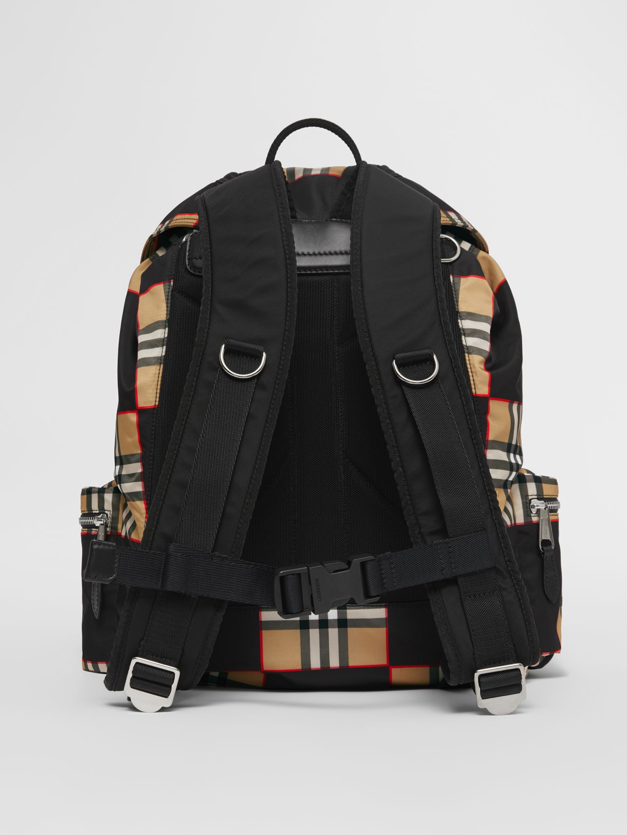 Logo Appliqué Chequer ECONYL® Backpack