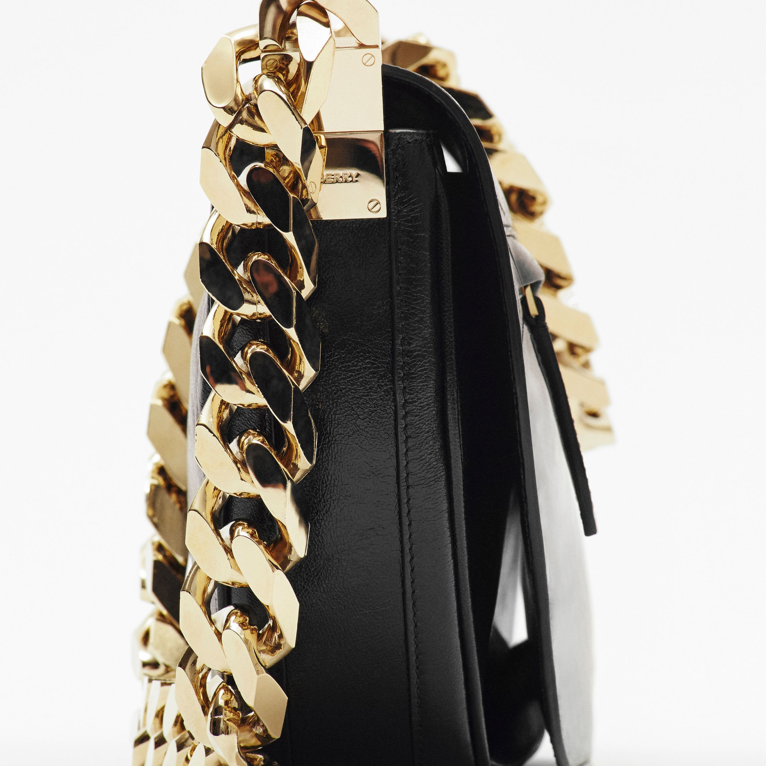 Medium Lambskin Olympia Bag in Black - Women | Burberry - 2