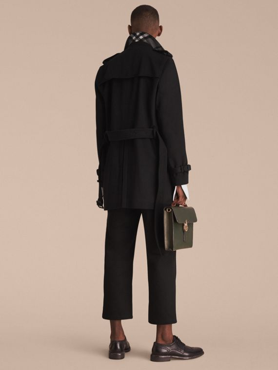 Trench coat in lana e cashmere - cell image 2
