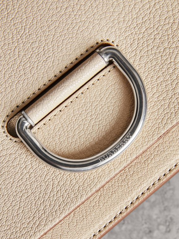 The Small Leather D-ring Bag in Stone - Women | Burberry United Kingdom - cell image 1
