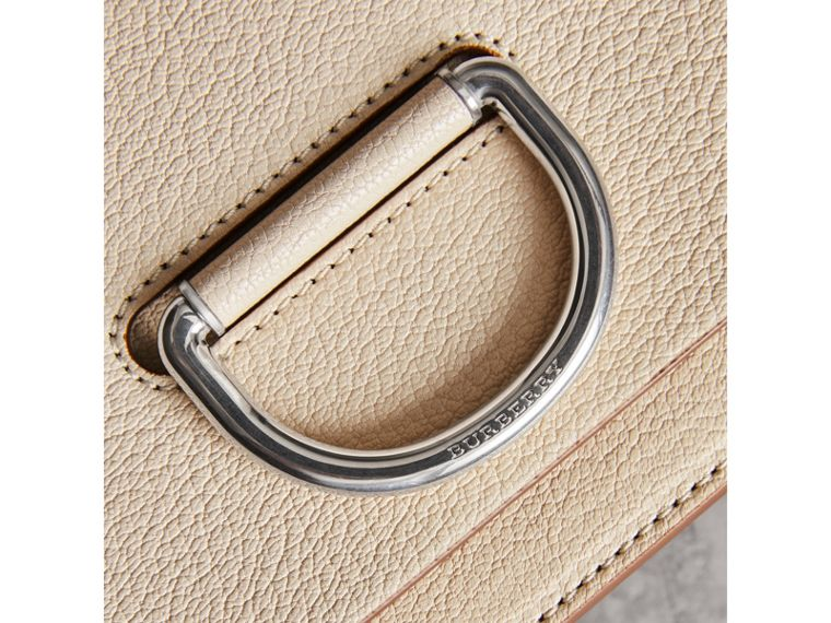 The Small Leather D-ring Bag in Stone - Women | Burberry - cell image 1