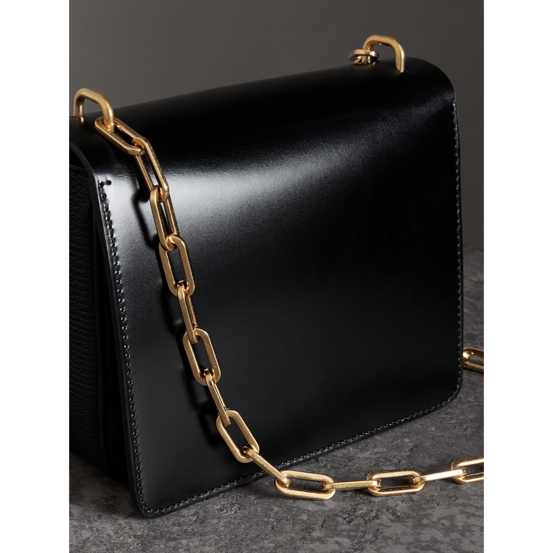 The Small D-Ring Bag aus Leder (Schwarz) - Damen | Burberry - Galerie-Bild 2