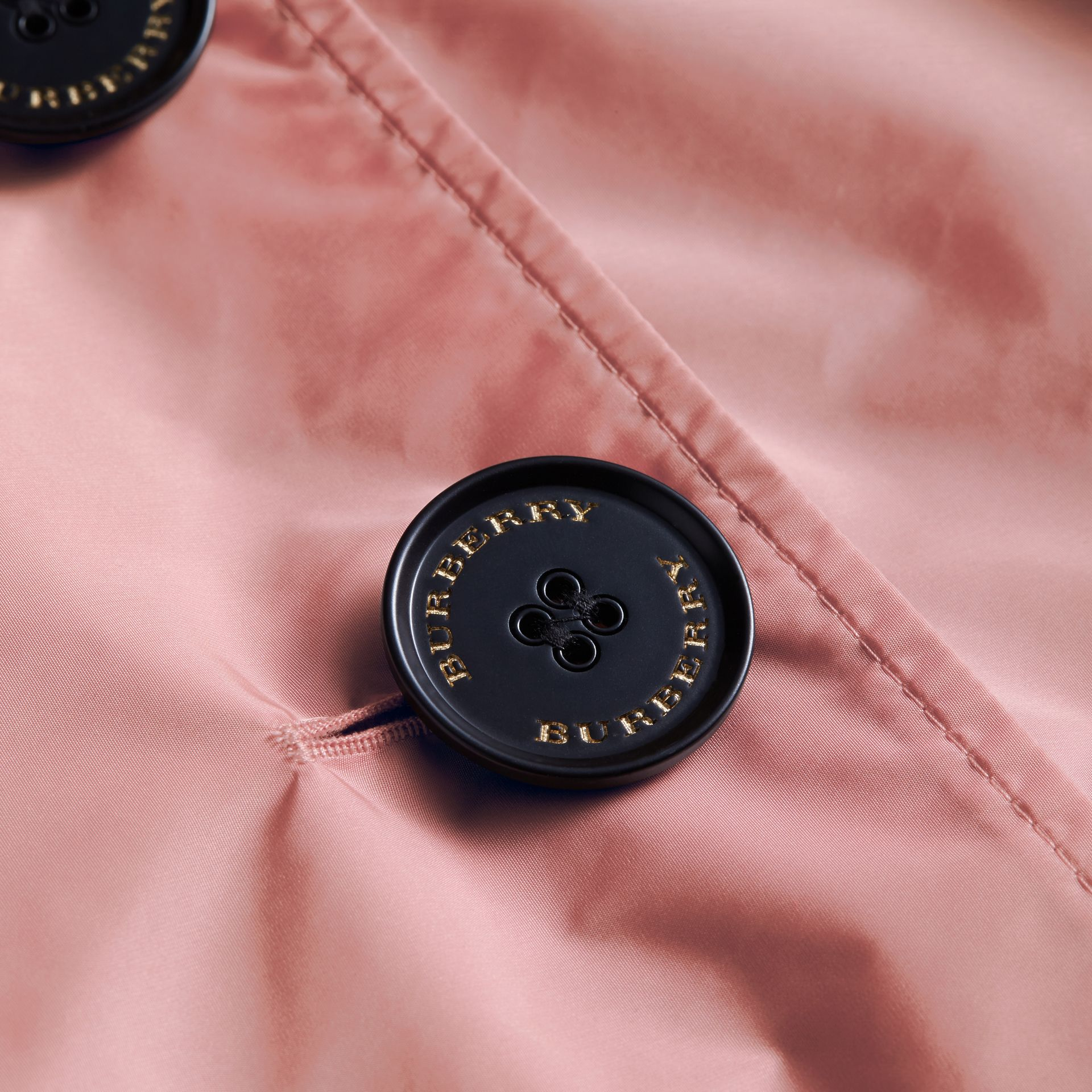 Showerproof Trench Coat in Antique Rose - Women | Burberry - gallery image 2