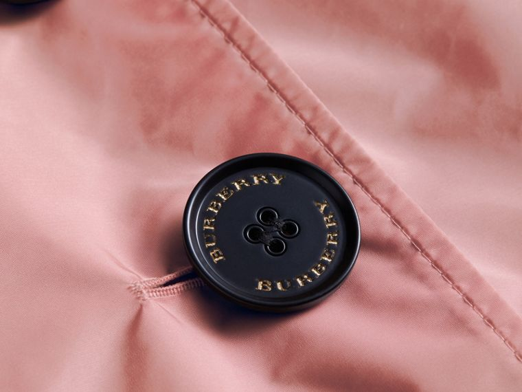 Showerproof Trench Coat in Antique Rose - Women | Burberry United States - cell image 1