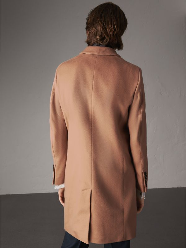 Wool Cashmere Tailored Coat in Camel - Men | Burberry - cell image 2