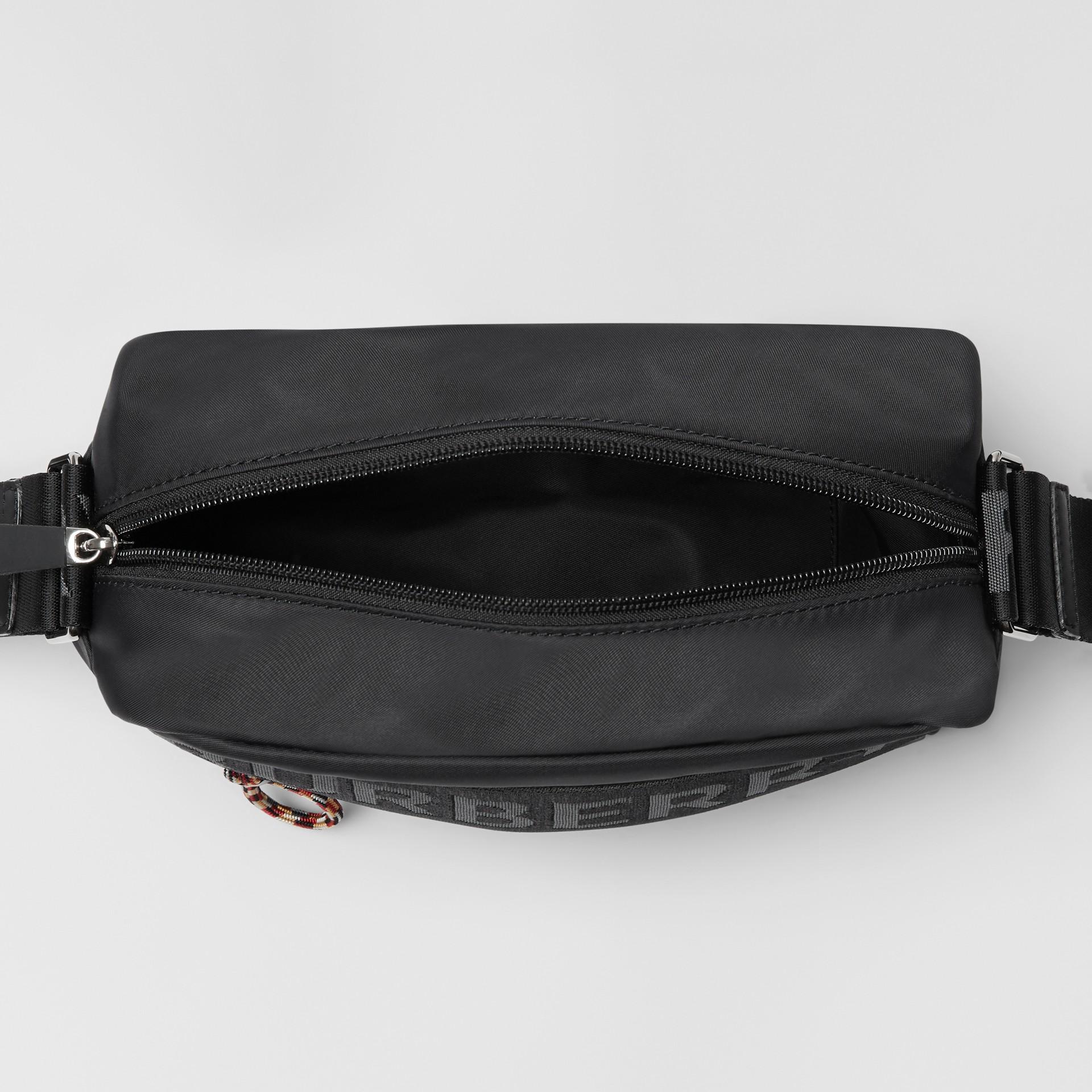 Logo Detail Crossbody Bag in Black - Men | Burberry United Kingdom - gallery image 5