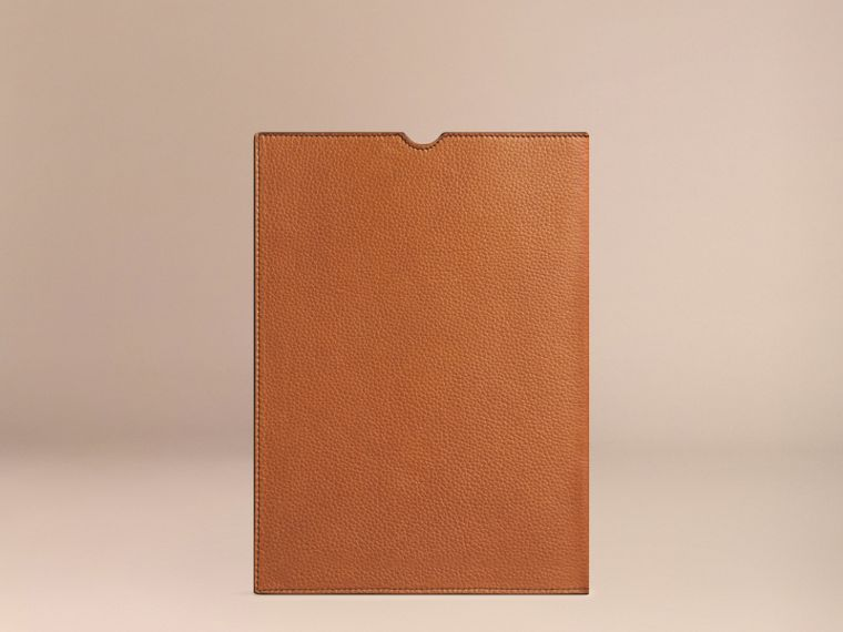 Tan Grainy Leather iPad Case Tan - cell image 1