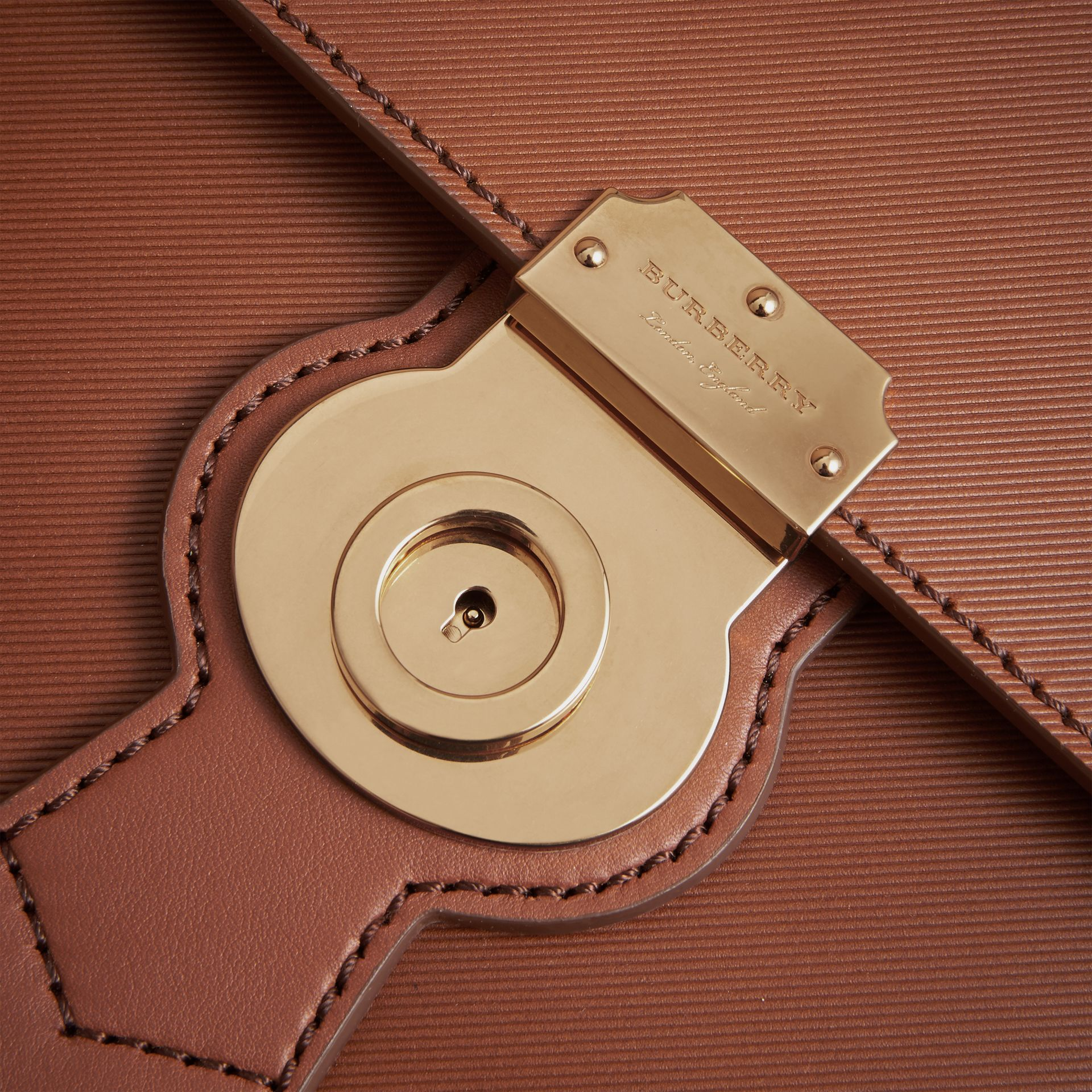 The Large DK88 Document Case in Tan - Men | Burberry - gallery image 7