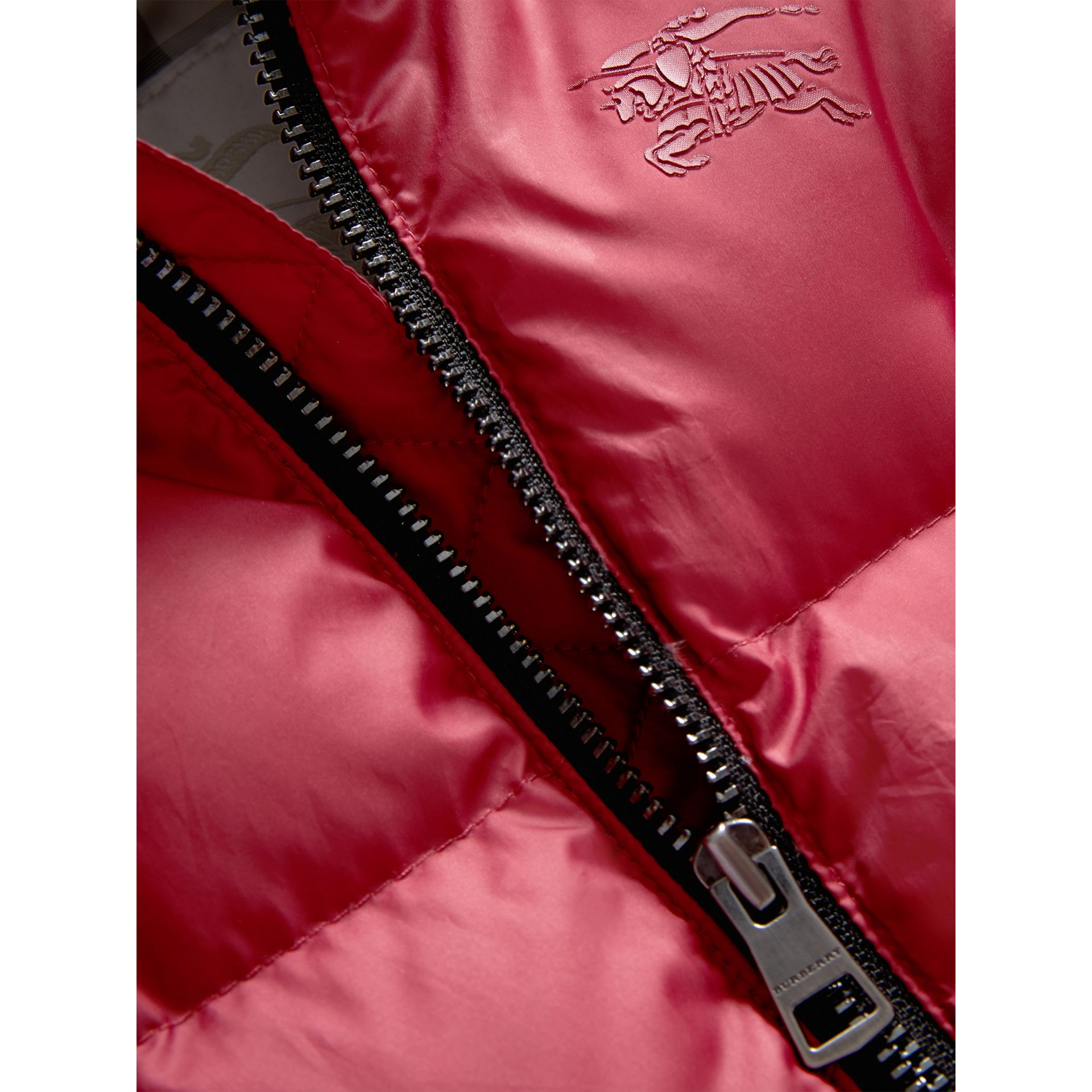 Down-filled Puffer Suit in Peony Rose | Burberry - gallery image 1