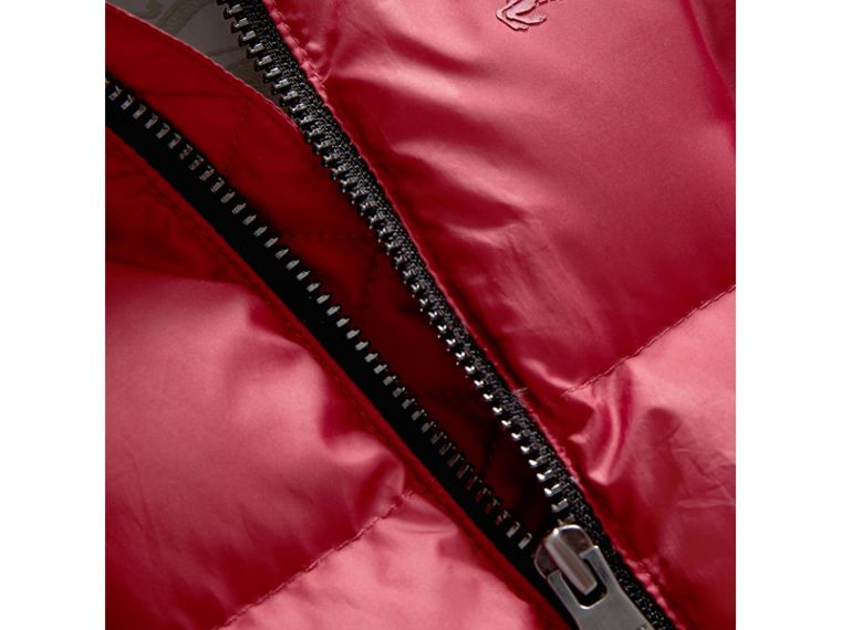 Down-filled Puffer Suit in Peony Rose | Burberry United Kingdom - cell image 1