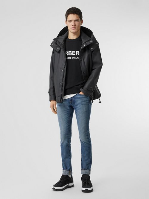 Burberry  Slim Fit Washed Japanese Selvedge Denim Jeans