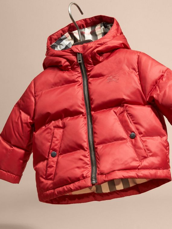 Military red Reversible Puffer Coat Military Red - cell image 2