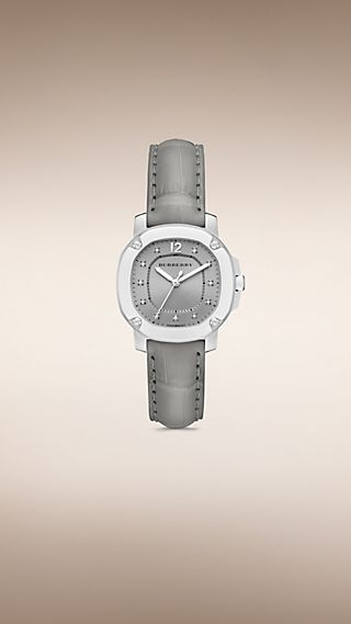 THE BRITAIN BBY1808 DE 34 MM CON INDICADORES DE DIAMANTE