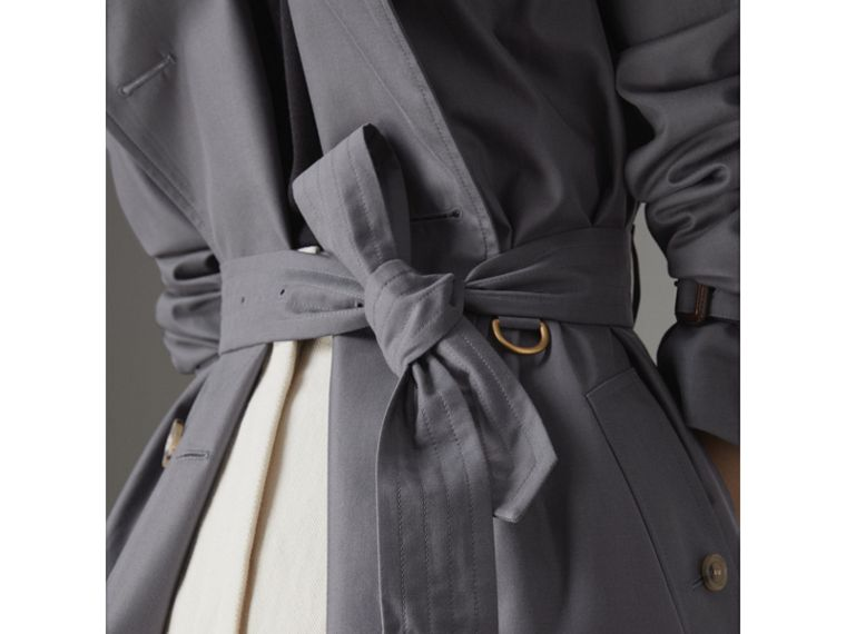 The Kensington – Trench Heritage (Gris Moyen) - Femme | Burberry - cell image 4