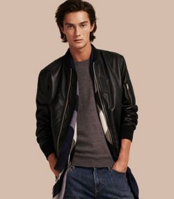 Men's Jackets | Leather Bikers, Bomber & Quilted | Burberry