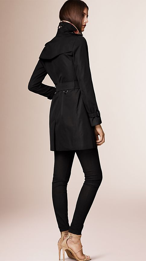Honey The Kensington - Mid-Length Heritage Trench Coat - Image 2
