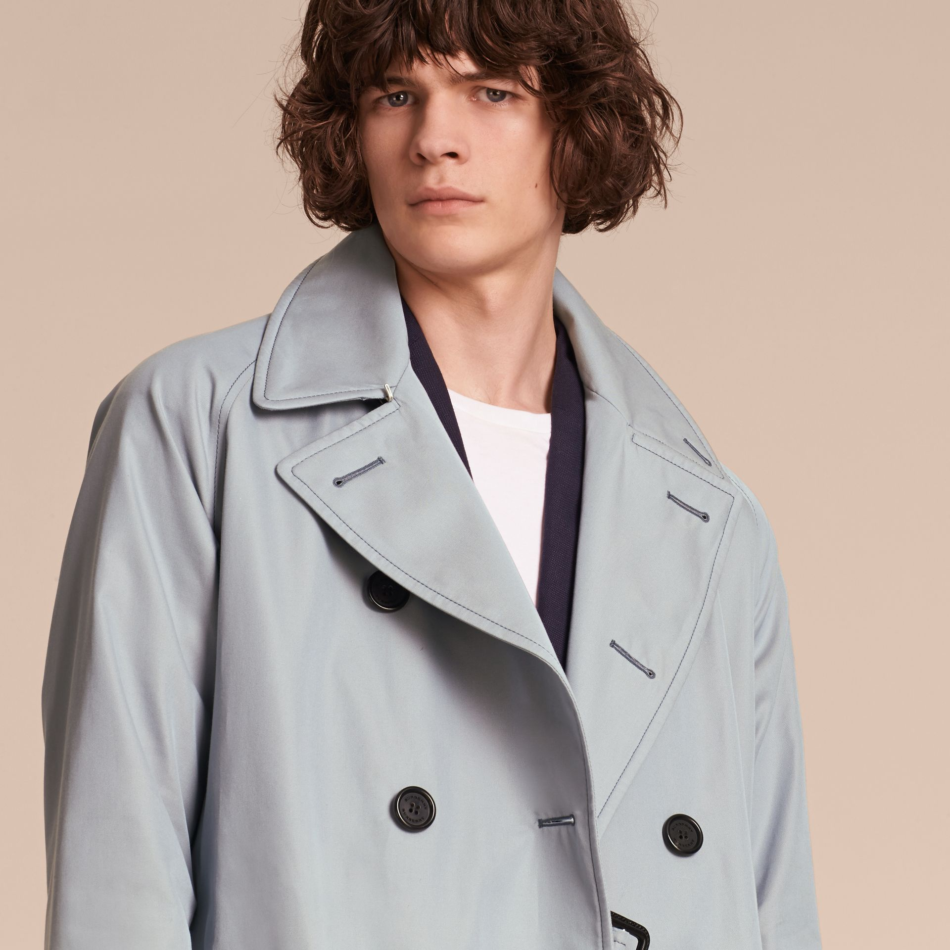 Cotton Trench Coat - gallery image 6