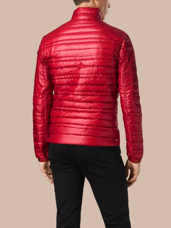Lightweight Down-filled Jacket Parade Red - cell image 2