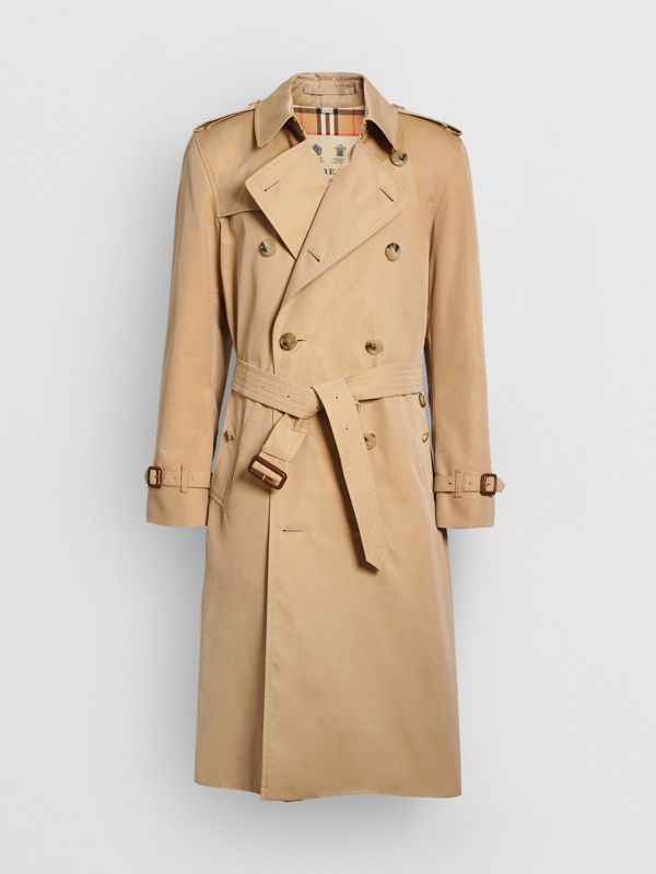 Trench coat Heritage The Kensington lungo (Miele) - Uomo | Burberry - cell image 3