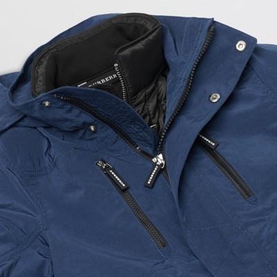 Burberry - Parka à capuche avec veste matelassée en duvet - 2