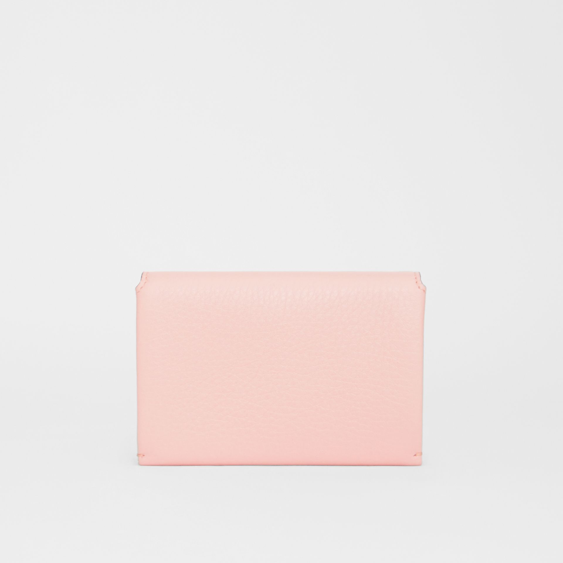Triple Stud Leather Folding Wallet in Pale Ash Rose - Women | Burberry - gallery image 4